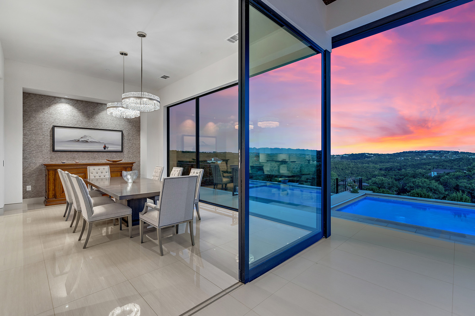 True indoor/outdoor living to fully capture views